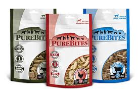 Beef liver, chicken and lamb liver Pure Bites dog treats